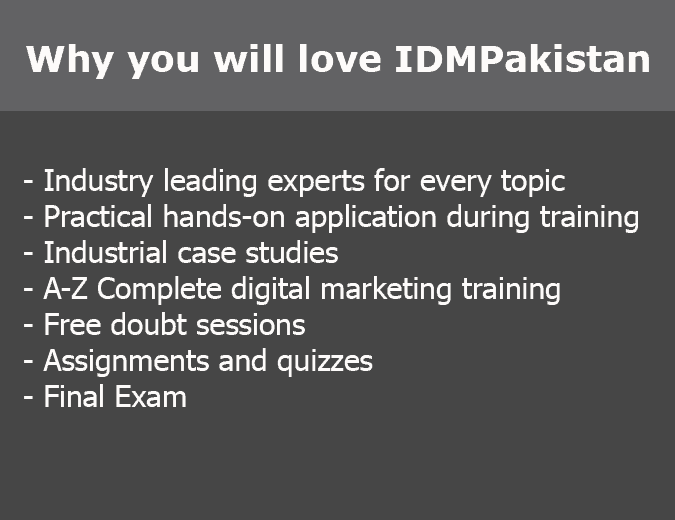 why you will love idmpakistan