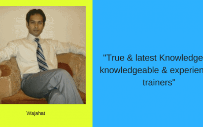 True & latest Knowledge by knowledgeable & experienced trainers